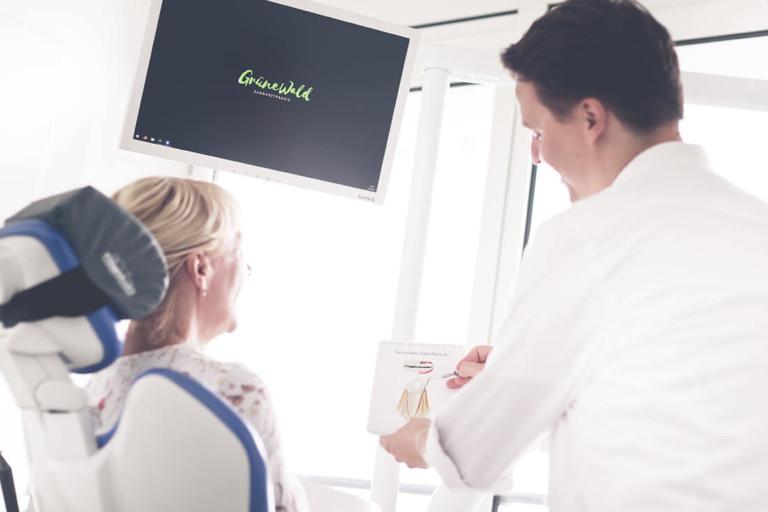 Zahnarzt Potsdam - Grünewald - Leistungen Parodontologie