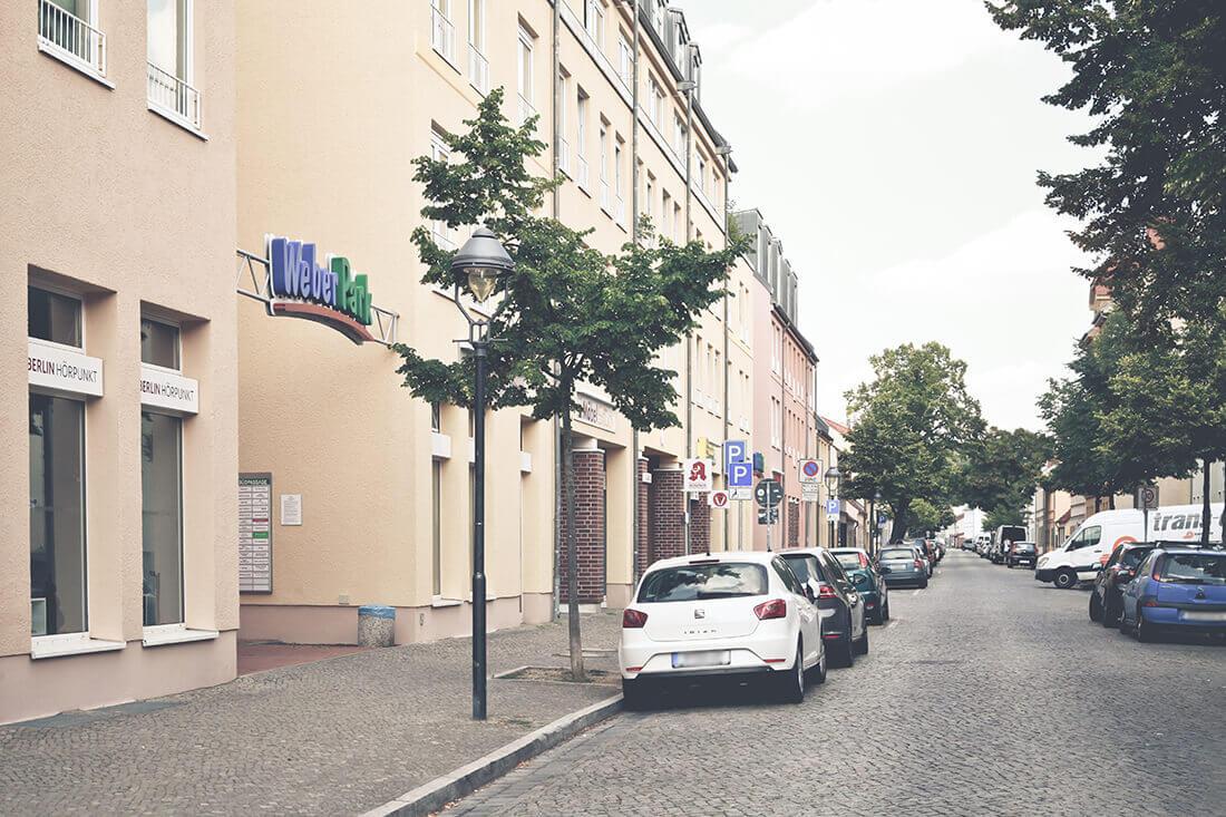 Zahnarzt Potsdam - Grünewald - Praxis Außenansicht